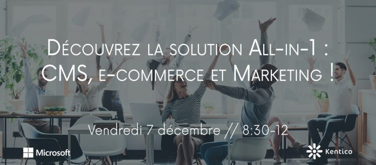 Découvrez la solution All-in-1 : CMS, e-commerce et Marketing !