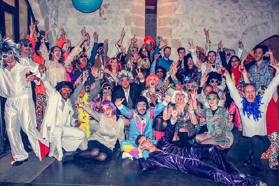 Disco event picture